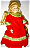 Click to view larger image of Seymour Mann Porcelain Treetop Angel Doll (Image4)
