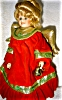 Click to view larger image of Seymour Mann Porcelain Treetop Angel Doll (Image5)