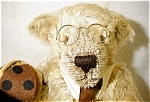 Click here to enlarge image and see more about item 1456: Hermann Y2K Bug Mohair Bear