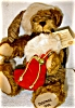 Click to view larger image of Hermann 1999 Annual Christmas Bear (Image2)