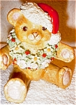 Click here to enlarge image and see more about item 1483: Irish Dresden Santa Bear