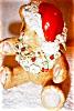 Click to view larger image of Irish Dresden Santa Bear (Image3)