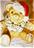 Click to view larger image of Irish Dresden Santa Bear (Image6)