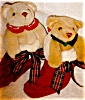 Click to view larger image of Bear Pair in Stockings by Biolowsky (Image2)