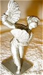 Click here to enlarge image and see more about item 1655: Pewter Figurine by Selangor Pewter