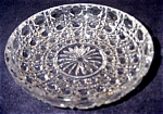 Click here to enlarge image and see more about item 1739: Cut Crystal Bowl