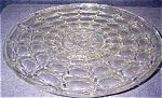 Click here to enlarge image and see more about item 1786: Indiana Glass Charger, Constellation w/Intaglio Center