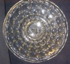 Click to view larger image of Indiana Glass Charger, Constellation w/Intaglio Center (Image4)
