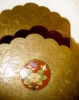 Click to view larger image of Brass Letter Holder with Cloisonne (Image2)