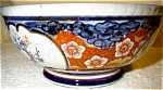 Click here to enlarge image and see more about item 1806: Japanese Imari Style Bowl
