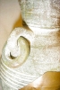 Click to view larger image of Pottery Vase with Metal Overlay (Image5)