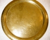 Click to view larger image of Brass Tray with Etched Figures and Brass Figurine (Image3)