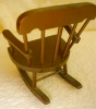 Click to view larger image of Wooden Doll Rocker (Image3)
