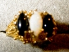 Click to view larger image of Opal and Onyx Ring (Image2)