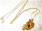Click here to enlarge image and see more about item 1861: Gold Necklace from Black Hills Gold