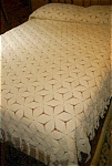 Click here to enlarge image and see more about item 1867: Crochet Bed Spread