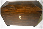 Click here to enlarge image and see more about item 1869: Antique Tea Caddy