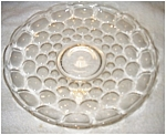 Click here to enlarge image and see more about item 1944: Heisey Glass Platter