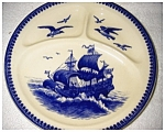 Click here to enlarge image and see more about item 2107: Villeroy and Boch Divided Plate