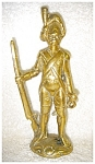 Click here to enlarge image and see more about item 2119: Brass Hunter Figurine