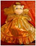 Click here to enlarge image and see more about item 2280: Dolly Dingle Doll Cat by Bette Ball