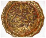 Click here to enlarge image and see more about item 2306: Oriental Dragon Plate