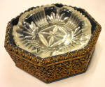 Click to view larger image of Metal Guiltwork Ashtray (Image2)