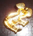 Click to view larger image of Crystal Panda Pin/Pendant (Image3)