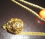 Click to view larger image of Egg Pendant with Changeable Colors (Image4)