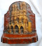 Click here to enlarge image and see more about item 2431: Cathedral Bookends