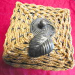 Click to view larger image of Woven Covered Box (Image2)