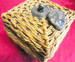 Click to view larger image of Woven Covered Box (Image3)