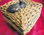 Click to view larger image of Woven Covered Box (Image4)