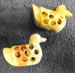 Click to view larger image of Soapstone ducks (Image2)