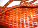 Click to view larger image of Talbot's Leather Woven Bag (Image2)