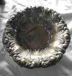 Click here to enlarge image and see more about item 2528: Ornate Silver Bowl