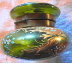 Click to view larger image of Moser Style Lidded Glass Box (Image3)