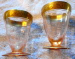 Crystal Cordial Glasses Set of Six