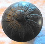 Click to view larger image of Wedgwood Black Basalt Cannister (Image6)