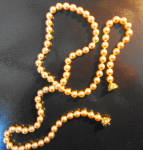 Click here to enlarge image and see more about item 2618: Nolan Miller Pearl Necklace