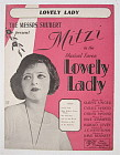 Sheet Music 1927 Lovely Lady