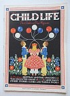 Child Life Magazine July 1936 Marie Lawson Cover