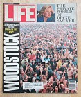 Life Magazine August 1989 Woodstock
