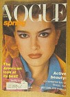Vogue Magazine February 1980 Brooke Shields