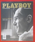 Playboy Magazine November/December 2017 Hugh Hefner