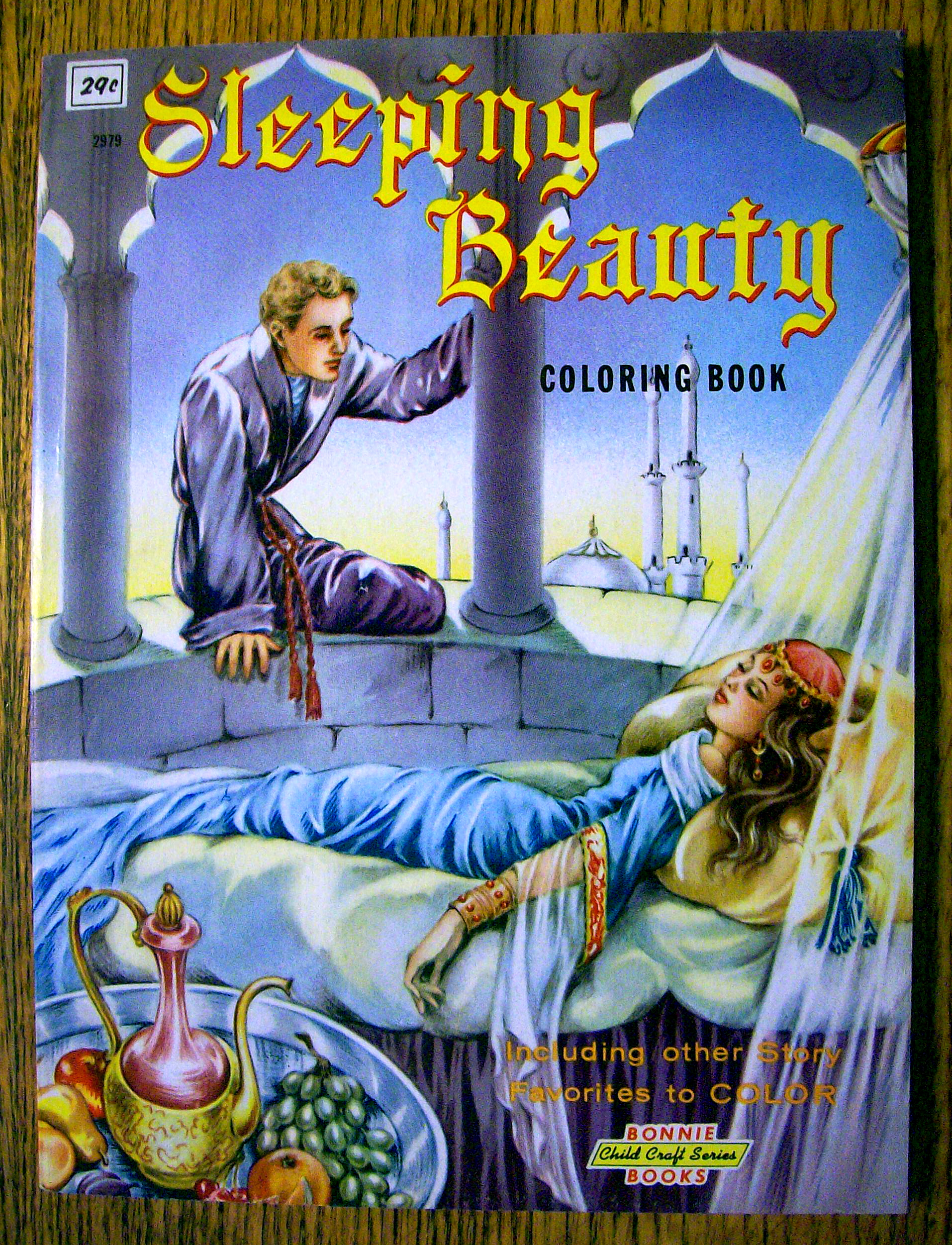 Sleeping Beauty Coloring Book 1960\'s (Bonnie Books) (Coloring Books ...