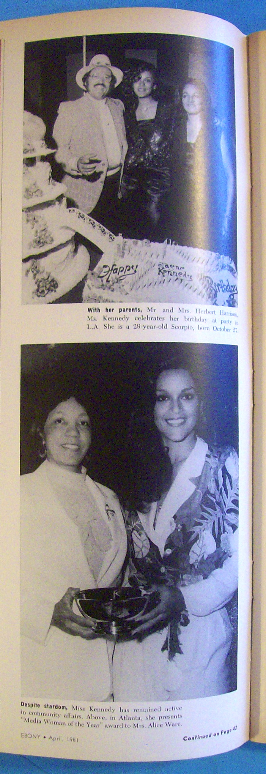 Re: Jayne Kennedy Overton Pic