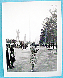 Vintage Photograph - New York World's Fair