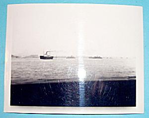 Vintage Photograph - 1939 New York Harbor (Image1)