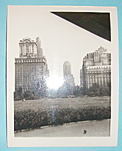 Vintage Photograph - 1939 Battery Park, New York City (Image1)